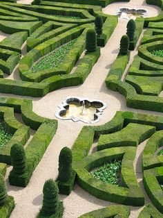 Chateau de Villandry, France. One of my favorite gardens.