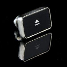 Eject Symbol Key Tie Tack/Pin
