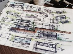 Esta semana trazo Sketches sobre este interesante nuevo proyecto, desarrollar una Cocina de Restaurant en un Contenedor. Crear un módulo que cumpla con los requerimientos operativos, de normas sani...