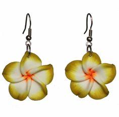 5.85€Jewellery Flower Hawaiian Dangly Earrings