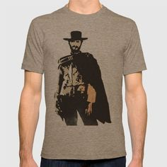 """The Man With No Name"" is a Badass T-shirt"