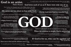 GOD (famous quotes about God)