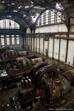 10 Richmond Power Station - A Look at Baltimore's Urban Decay