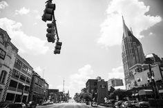 Nashville. Second Avenue. Broadway. Batmanbuilding