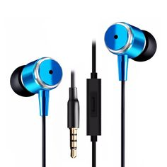 3.5mm Earphone In-Ear For IPhone 6 5S 4 for Samsung for Xiaomi MP3 MP4 Best Bass Free Shipping Wholesale