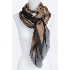 Burberry Oblong Scarf found on Polyvore