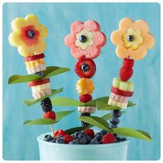 Healthy treats for kids birthday parties.