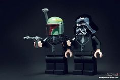 Star Wars Pulp Fiction Legos
