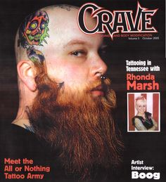 Crave Magazine: All or Nothing Tattoo