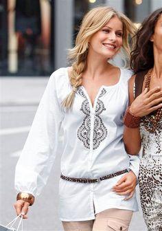 Bluse von Vivien Caron Rompers, Dresses, Fashion, Fashion Styles, Vestidos, Moda, Romper Clothing, Romper Suit, Onesies