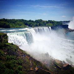 """See 4487 photos from 25560 visitors about scenic views, canadian side, and american side. """"Perfect place to see the falls. Niagara Falls American Side, Canada, Perfect Place, Places To See, To Go, Boat, Buffalo, Travel, Lifestyle"""