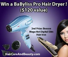Enter this sweepstakes right here:    https://www.facebook.com/HairCareAndBeauty/app_28134323652  Offer ends May 8, so hurry!