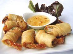 Shrimp Spring Rolls ( Por Pier Gung )