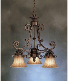 Kichler 1853 Cottage Grove 3 Light Chandelier, Metal Chandelier, Vintage Chandelier, Lamp Light, Dinning Room Light Fixture, Light Fixtures, Room Lights, Hanging Lights, Sophisticated Living Rooms
