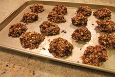 Traveling Oat Cookies – inspired by Dr. Fuhrman's Banana Oat Cookies – Makes 15 cookies