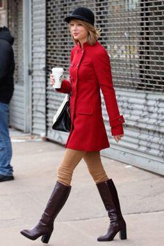 La cantante Taylor Swift lascia la palestra, il 17 gennaio 2015 a New York.  -cosmopolitan.it