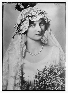 Astrid of Belg.  (LOC) by The Library of Congress, via Flickr Another of her wedding photos