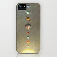 The Solar System iPhone & iPod Case by Terry Fan - $35.00