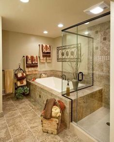 Nice 43 Awesome Cozy Master Bathroom Ideas https://decoraiso.com/index.php/2018/05/30/4222/