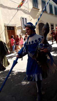 rievocazione medioevale ad Arezzo