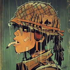 "7,877 Likes, 32 Comments - Brett Parson (@blitzcadet) on Instagram: ""World War Tank Girl, the 3rd series in our new trilogy of Tank Girl books begins this February!…"""