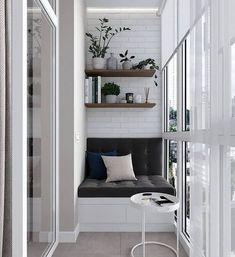 Cool Gorgeous Small Apartment Design With Amazing Interior Decor, House, Balcony Decor, Interior, Apartment Design, Home Decor, House Interior, Interior Design, Small Apartment Design