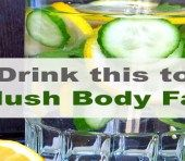 Flush Body Fat by Drinking This Amazing Detox Water