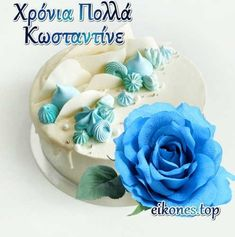 Name Day, Body Treatments, Birthday Cake, Names, Desserts, Pattern, Food, Birthday, Tailgate Desserts