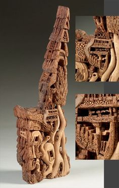 Pretty cool, click to the website to see the Artistry in Wood page. Amazing carving!
