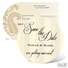 Jean M Wedding Invitations Photos on WeddingWire. Yeah! Something other than a square card!