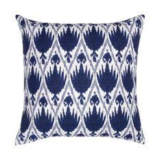 Marine Blue Capri Pillow | Janet Kain for the Home