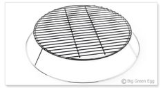 From The Chrome-plated steel base with a porcelain coated grid. Big Green Egg Accessories, Grill Accessories, Green Egg Grill, Green Eggs, Chrome Plating, Grid, Porcelain, Base, Steel