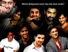 Which Bollywood actor has the best smile?