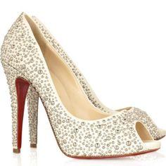 Love these peep toe beauties!