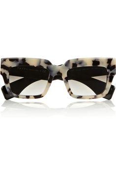 Prada|Square-frame acetate sunglasses|NET-A-PORTER.COM