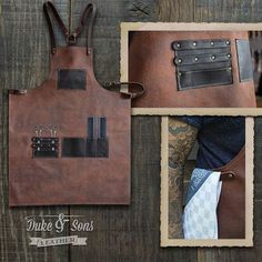 I updated my #handmade #leather #barber #apron from neck strap into shoulder strap for maximum comfort wearing it all day. Check my #Etsy shop #DukeAndSonsLeather #handmade #leather #accessories #leatherwork #leathercraft #barbershop #barbertools #barberlife #menscut #grooming #barberapron  Http://www.etsy.com/shop/DukeAndSonsLeather