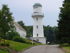 Cape Elizabeth Lighthouse (West Tower) - Maine - viewed on July 25, 2005