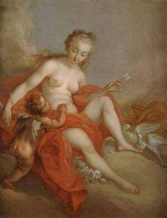 Venus and Cupid by Pierre-Charles Trémolières