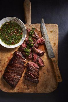steak and chimicurri / Jennifer Chong