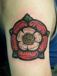 Tudor Rose Tattoo - My favorite British dynasty.  I don't know where I would put it though... not on my arm for sure :/
