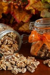 """Slow Cooker Candied Pecans - Make these candied pecans in your slow cooker for guests or wrap them up for a homemade Christmas gift."""" data-componentType=""""MODAL_PIN"""
