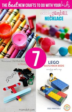 7 of The Best New Crafts To Do With Your Kids