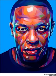 Dr. Dre, Merkel, Macklemore and another portraits