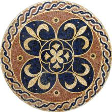 mosaic medalion/ pin by www.detaildesiggrop.com