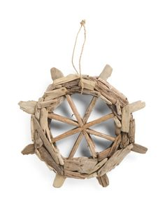 Driftwood+Ship+Wheel