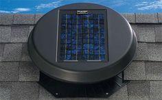 Solatube Solar Star Attic Fan > Green Products, Green Building Materials | Green Depot