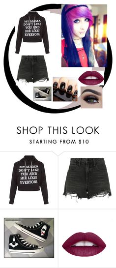 """""""getting things done"""" by xxx-nightrose-xxx on Polyvore featuring Alexander Wang and Converse"""