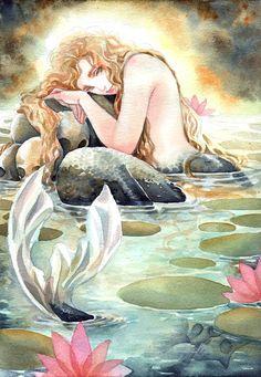 What is Your Painting Style? How do you find your own painting style? What is your painting style? Mermaid Artwork, Mermaid Drawings, Art Drawings, Mermaid Paintings, Siren Mermaid, Mermaid Boy, Mermaid Tails, Fantasy Mermaids, Mermaids And Mermen