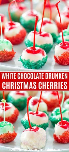 Drunken Cherries Christmas Drunken Cherries are the perfect boozy bite treats for the holidays.Christmas Drunken Cherries are the perfect boozy bite treats for the holidays. Best Christmas Recipes, Holiday Recipes, Dinner Recipes, Holiday Baking Ideas Christmas, Christmas Decorations, Holiday Decor, Holiday Desserts, Holiday Treats, Christmas Treats For Gifts