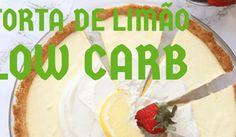 receita de torta de limão low carb
